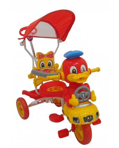 hlx nmc kids tricycle smart duck 2016 red