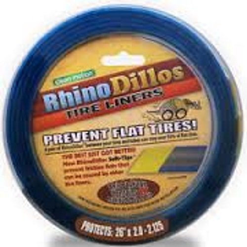 RhinoDillos Tire Liners 26 x 2.0 - 2.125 Brown