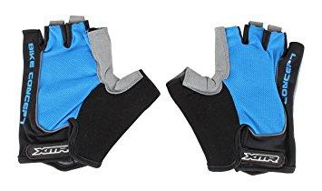 XMR Gloves Blue with Black