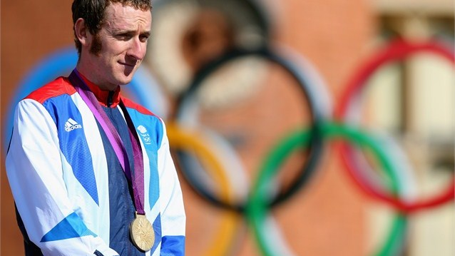 Bradley Wiggins has the perfect reason to celebrate