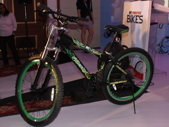 Firefox and MTV release new range of bicycles