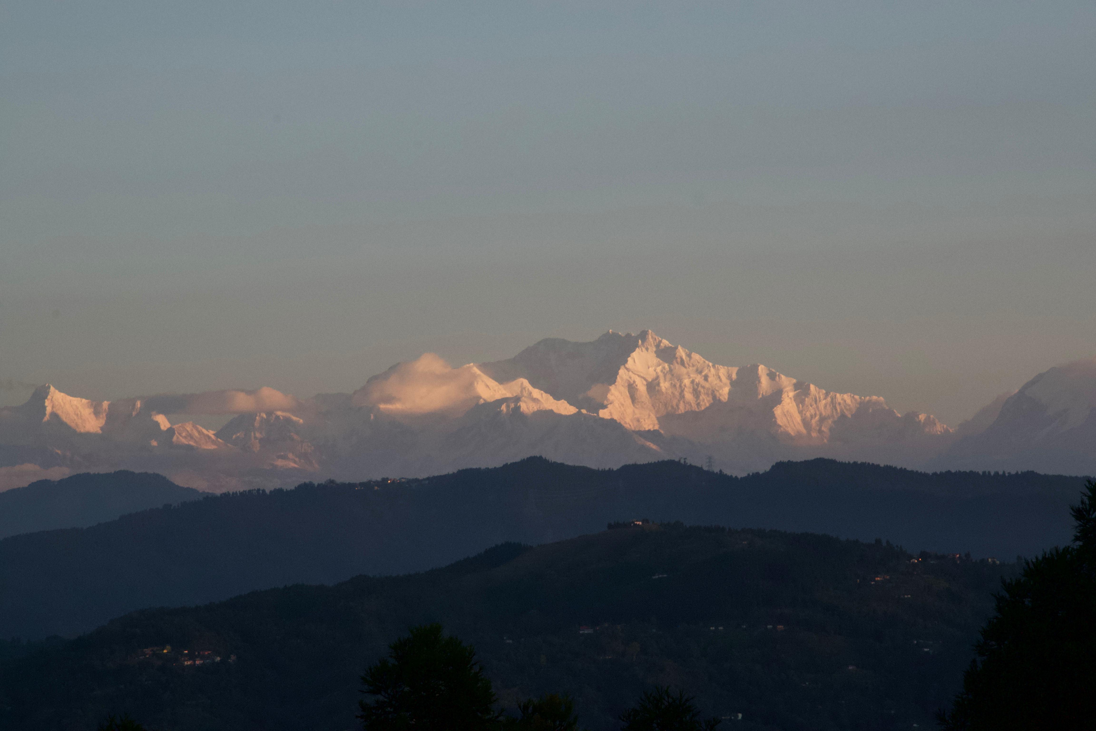 Shree Antu - Kanchenjunga - Sunrise view