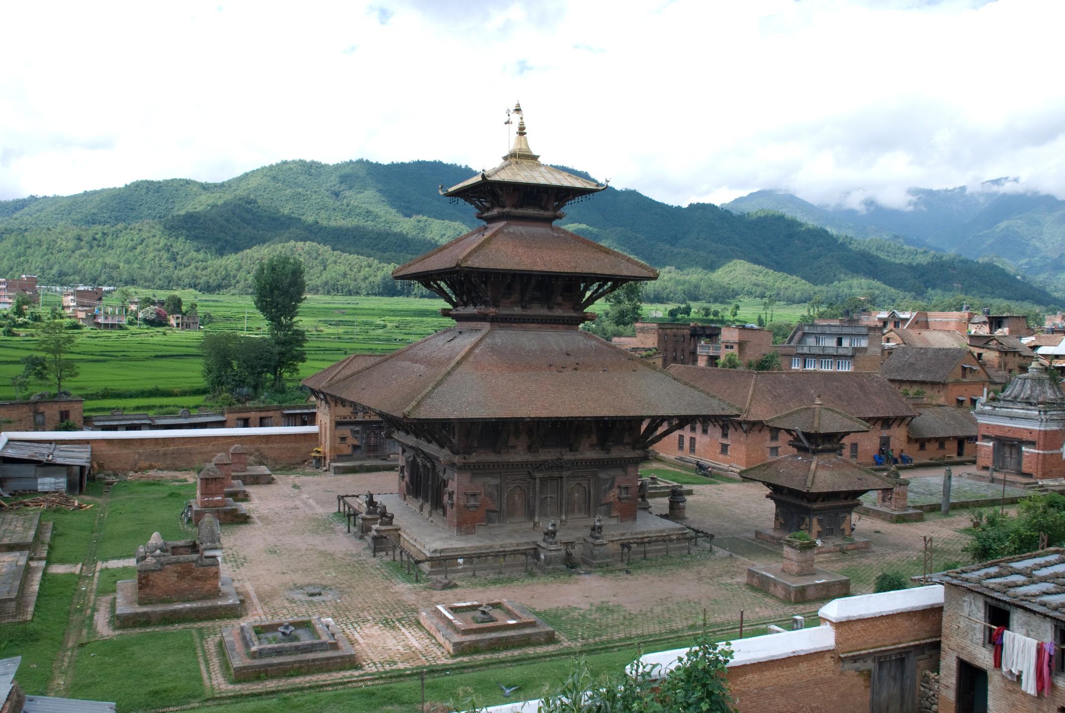 Indreshwor Temple in Panauti, Nepal
