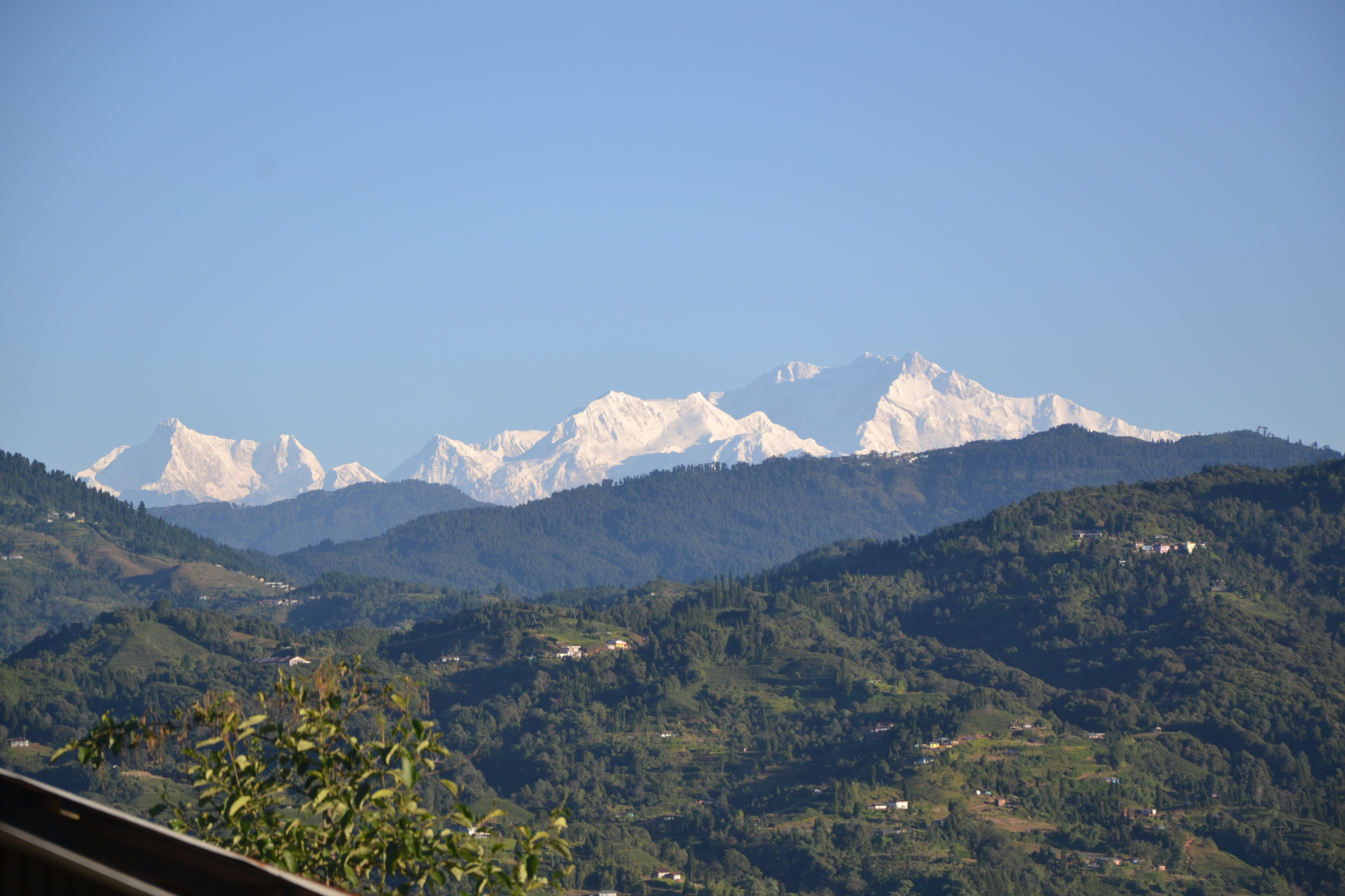 View on mountains from Shree Antu