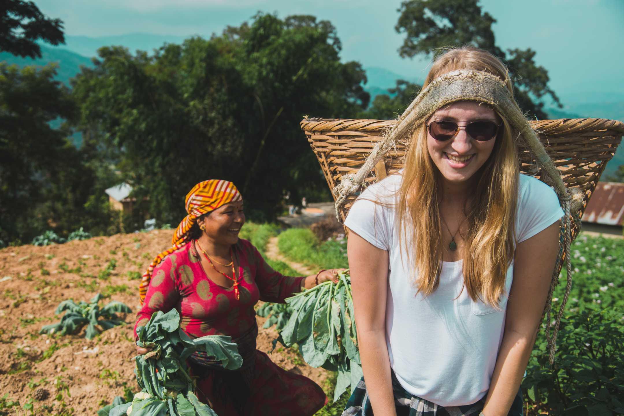 Learn about farming at Patlekhet Community Homestay in Nepal