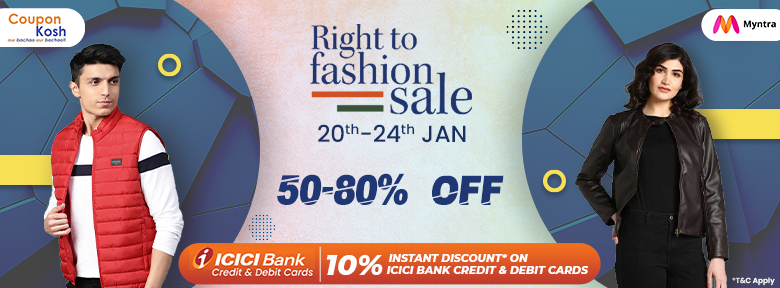 Right To Fashion Sale: 50% - 80% off