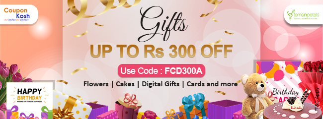 All gifts - Upto Rs.300 off