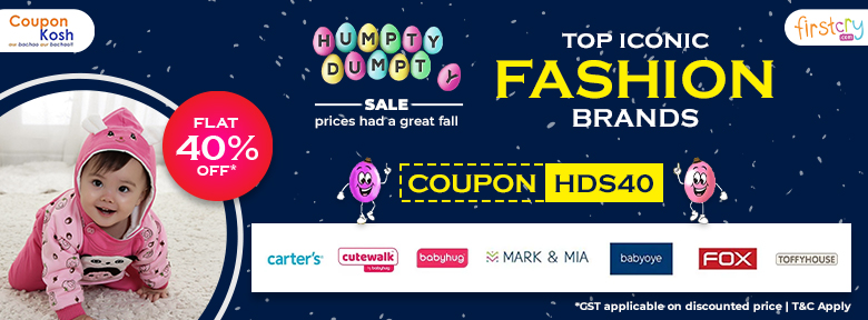 Humpty Dumpty Sale: Top iconic fashion brands - Flat 40% off