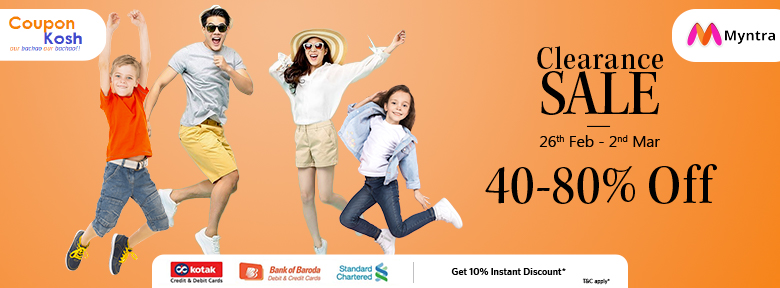 Clearance Sale: Fashion wear - 40% - 80% off