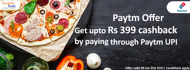 Paytm Offer: Get upto Rs 399 cashback on paying through Paytm UPI payment