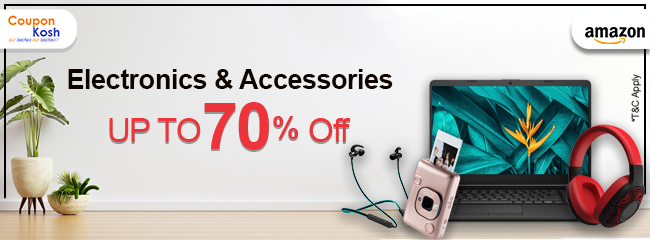 Clearance Store: Electronic and accessories - Upto 70% off