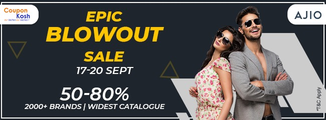Epic Blowout Sale: Fashion wear - 50% - 80% off