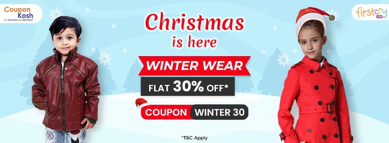 Christmas Offer: Flat 30% off on select winter styles