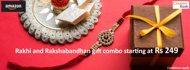 Rakhi and Rakshabandhan Gift combo starting at Rs 249