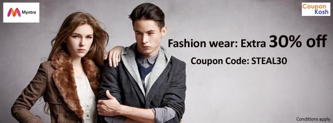 Fashion wear - Extra 30% off