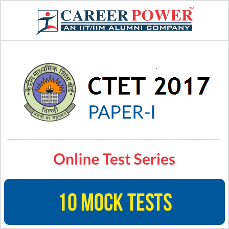CTET Exam 2017 Paper I Online Test Series