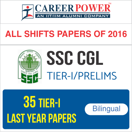SSC CGL Tier -I (All Shifts Papers of 2016) Package