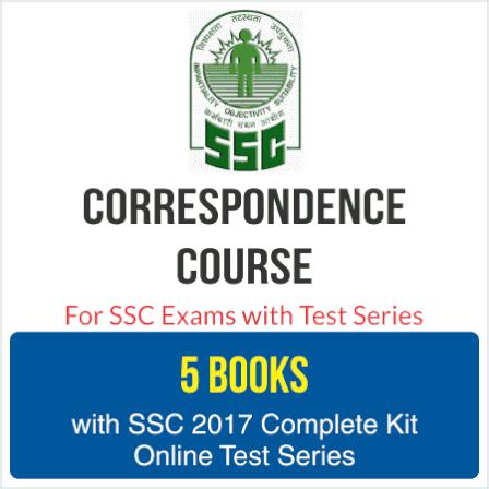 SSC Correspondence Course
