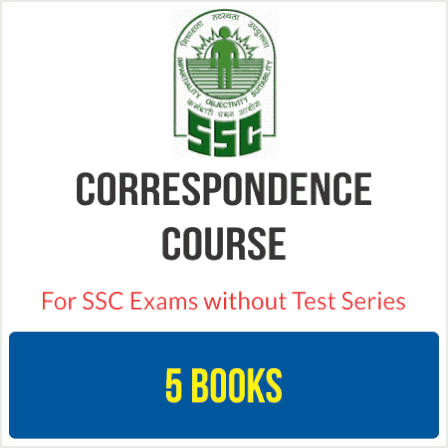 SSC Correspondence Course Without Test Series
