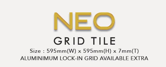 Image of Neo Grid Ceiling