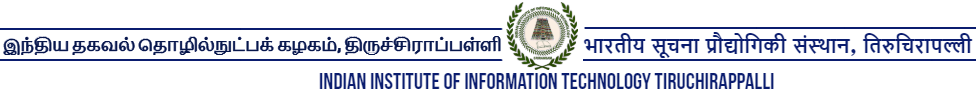 IIIT Tiruchinapalli