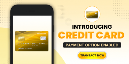 Introducing Credit Card Payments