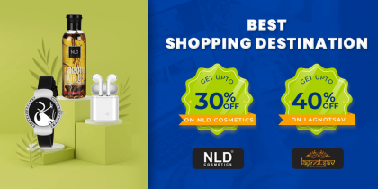 Shop And Get Upto 40% Discounts
