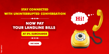 Landline Bill Payment
