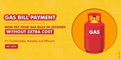 Pay Gas Bills At 0% Convenience Fee