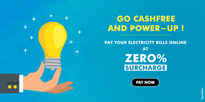 Pay Electricity Bills At 0% Surcharge