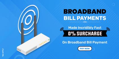 Broadband Bill Payment