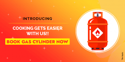 Gas Cylinder Booking