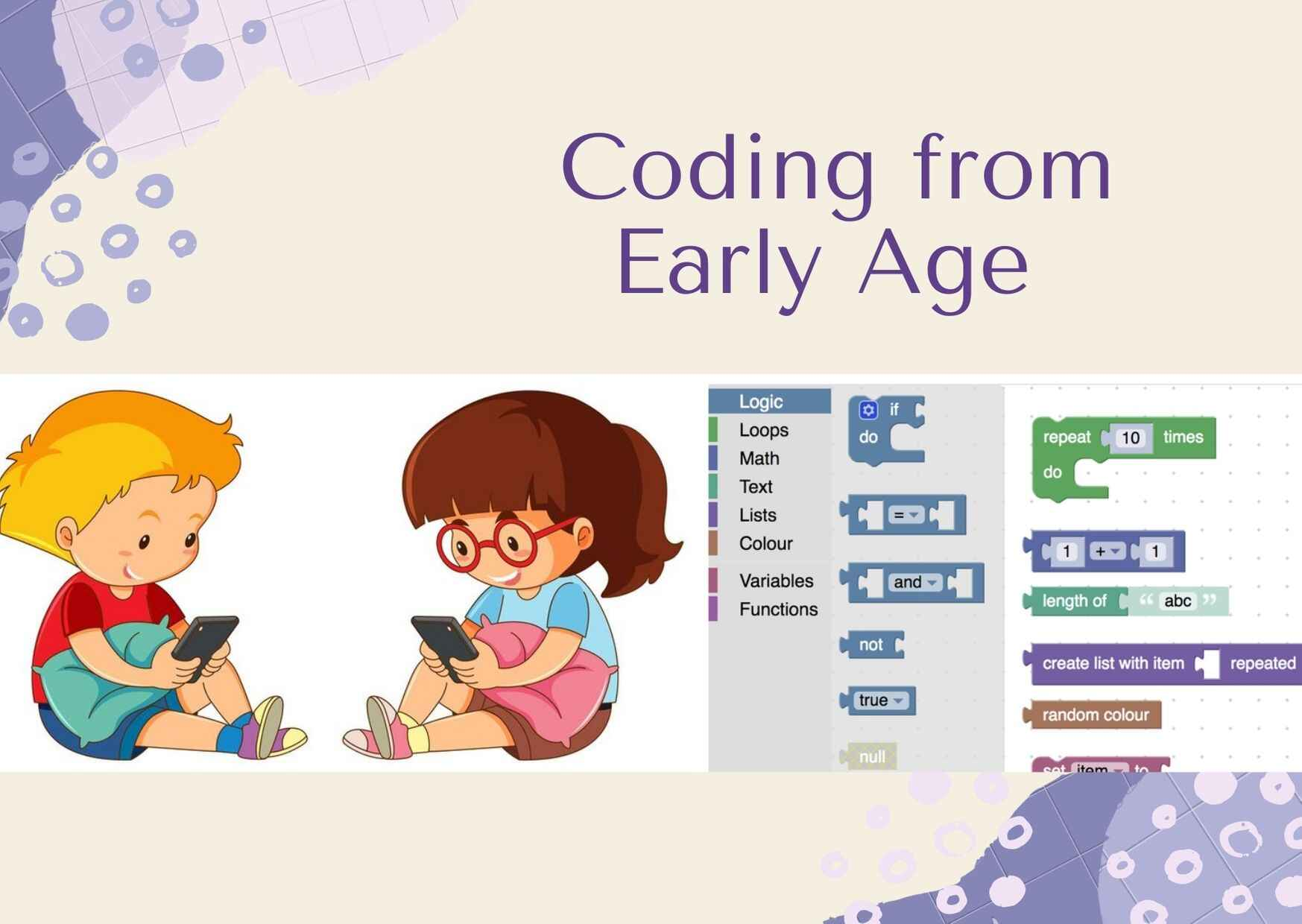 Why should kids start Coding from young Age?