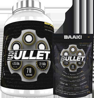Bullet protein preworkout