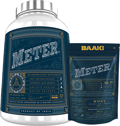 METER Post workout recovery whey protein