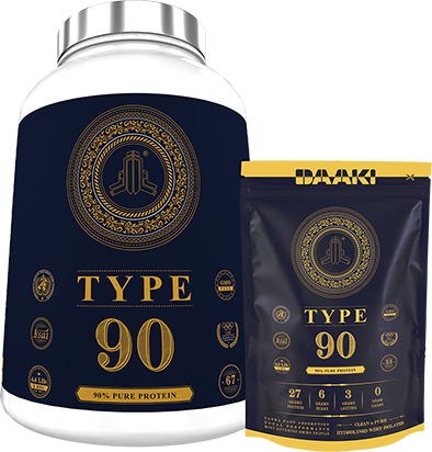 Type90 90% pure hydrolysed muscle building post workout supplement