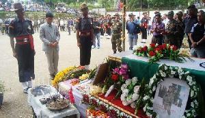 इस खौफनाक तरीके से हुई सैनिक की मौत, कांप गई सबकी रूह