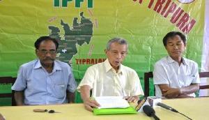 BJP  के खिलाफ हुई सहयोगी पार्टी IPFT, अलग राज्य की मांग को लेकर करेगी आंदोलन