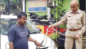 यात्री का सामान लेकर फरार हुआ कैब चालक पुलिस की गिरफ्त में आया