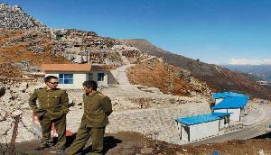 सरकार ने कहा , अरुणाचल में चीन ने नहीं किया कोई खनन कार्य
