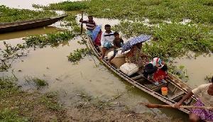 असम : खेतों में भरा पानी, किसानों की फसलें बरबाद