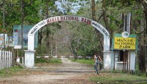 राष्ट्रीय मानस उधान पर्यटकों की लिए खोला गया