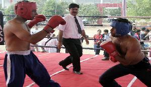 नेशनल मुक्केबाजी चैम्पियनशिप में हरियाणा, महाराष्ट्र और मणिपुर के खिलाडियों का जलवा कायम