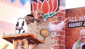 शाह का कांग्रेस पर बड़ा हमला, कहा-शेखचिल्ली जैसी बातें करते हैं राहुल