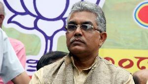 दार्जिलिंग में भाजपा के राज्य अध्यक्ष दिलीप घोष पर हुए हमले में दो गिरफ्तार