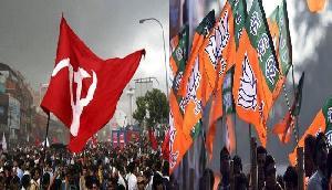 बीजेपी ने सीपीआई के खिलाफ गुवाहाटी में निकाली जनसुरक्षा रैली