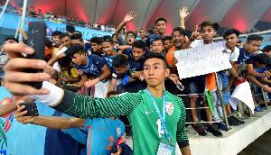 मणिपुर के खिलाडिय़ों का राज्य में हुआ शानदार स्वागत
