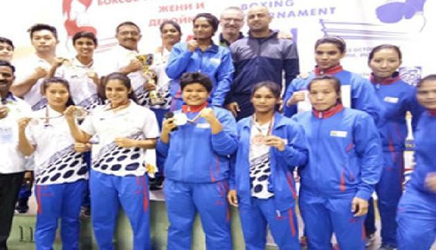 बाल्कन चैम्पियनशिप में भारतीय इलीट महिला मुक्केबाजों ने जीते पांच पदक