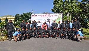 मणिपुर की राज्यपाल ने किया त्रि-राष्ट्र मोटरसाइकिल यात्रा का स्वागत