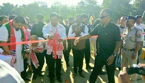 सोनोवाल ने किया डिब्रूगढ़-तिनसुकिया में कई परियोजनाओं का उद्घाटन